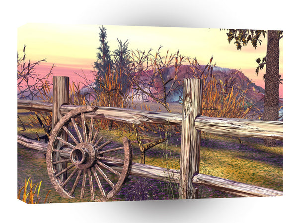 3d Art Country Feeling A1 Canvas
