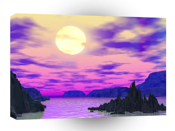 3d Art Foreboding Solace A1 Canvas