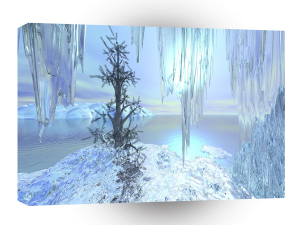 3d Art Icy Hot A1 Canvas