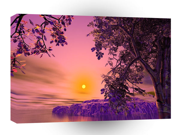 3d Art Setting The Mood A1 Canvas
