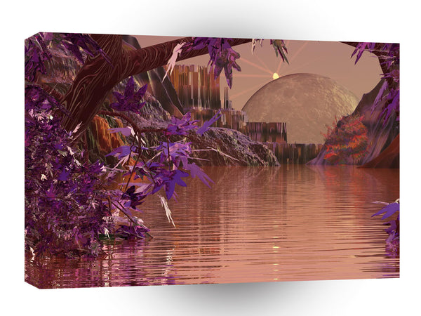3d Art Threshold Of A Dream A1 Canvas