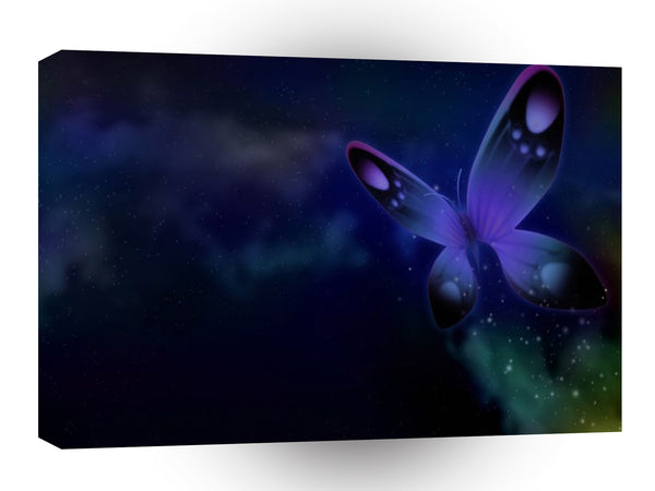 Abstract Animal Butterfly Glistens A1 Canvas