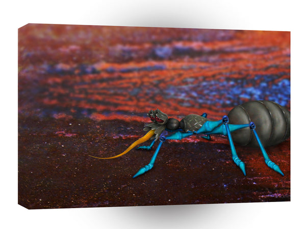 Abstract Animals Alien Psychedelic Ant A1 Canvas