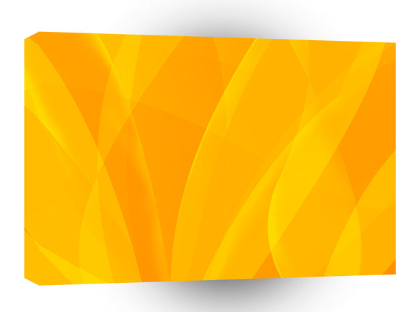 Abstract Bright Yellow Flames Hope A1 Xlarge Canvas