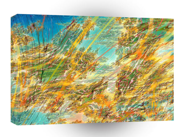 Abstract Colors Autumn Skies A1 Xlarge Canvas
