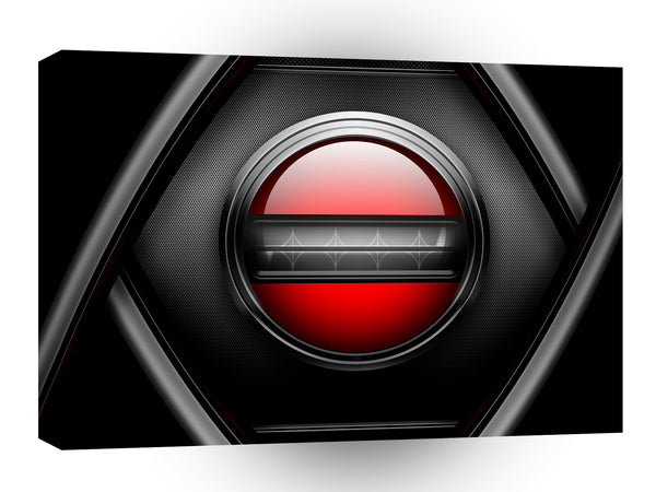 Abstract Cool Virtual Button A1 Xlarge Canvas