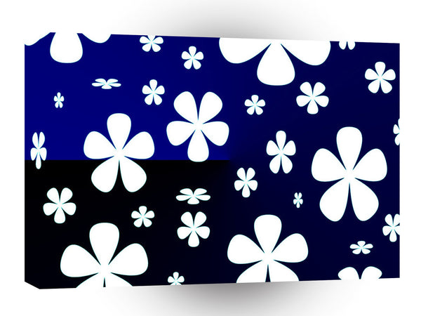 Abstract Flower Flower Pattern A1 Xlarge Canvas