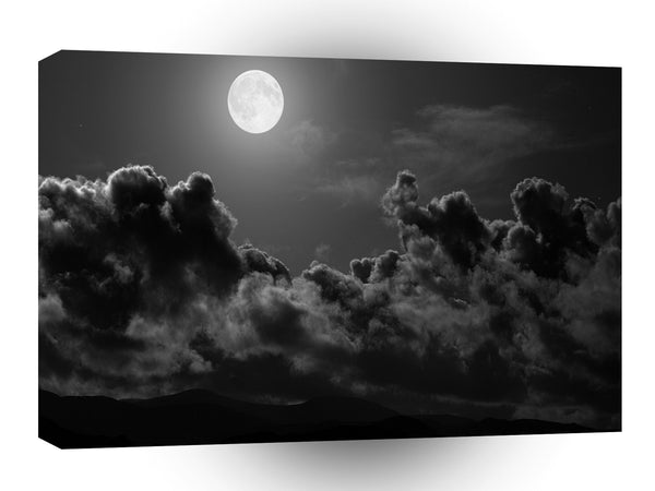 Abstract Landscape Clouds Explore Moonlight A1 Xlarge Canvas