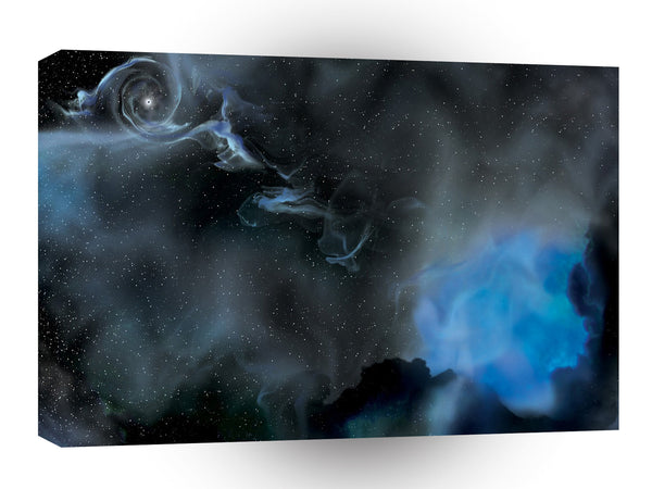 Abstract Sci Fi A Galaxy Beyond A1 Xlarge Canvas