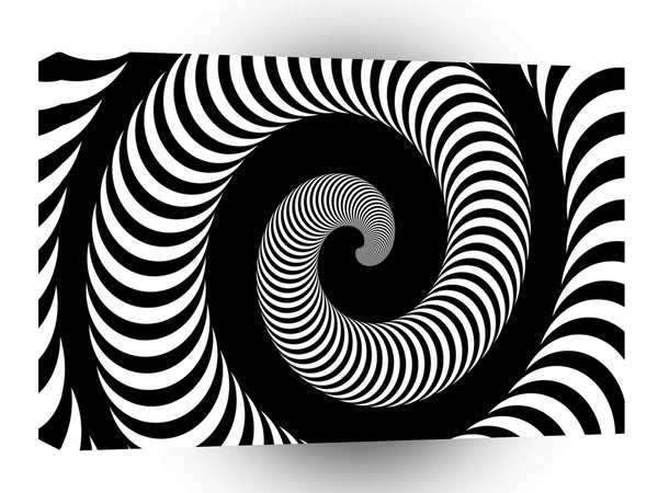 Abstract Spiral The Horn Effect A1 Xlarge Canvas