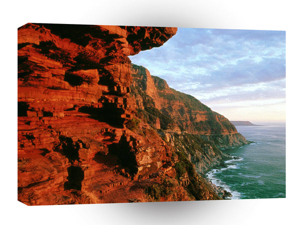 Africa Chapmans Peak Drive Cape Peninsula South A1 Xlarge Canvas