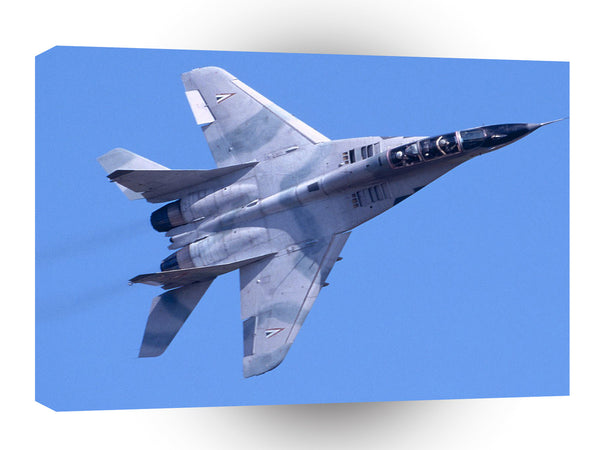 Air Power Afterburner Hungarian Mig 29 A1 Xlarge Canvas