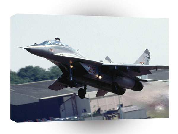 Air Power Take Off Hungarian Mig 29 A1 Xlarge Canvas