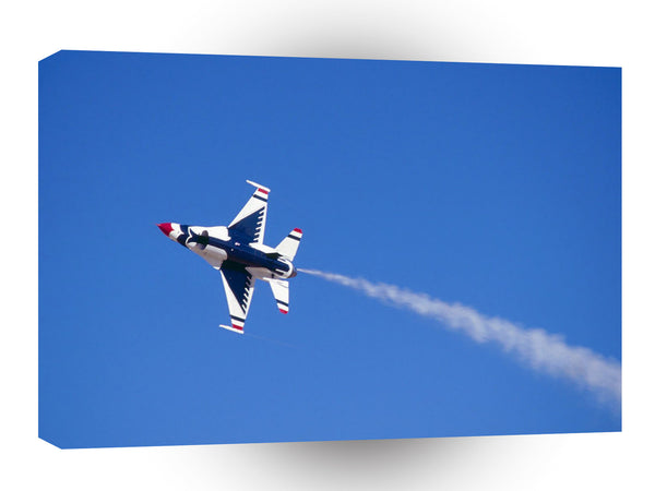 Air Power Twirling The Air Thunderbird A1 Xlarge Canvas
