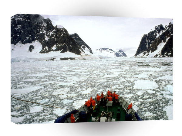 Antarctica Antarctic Travels A1 Xlarge Canvas
