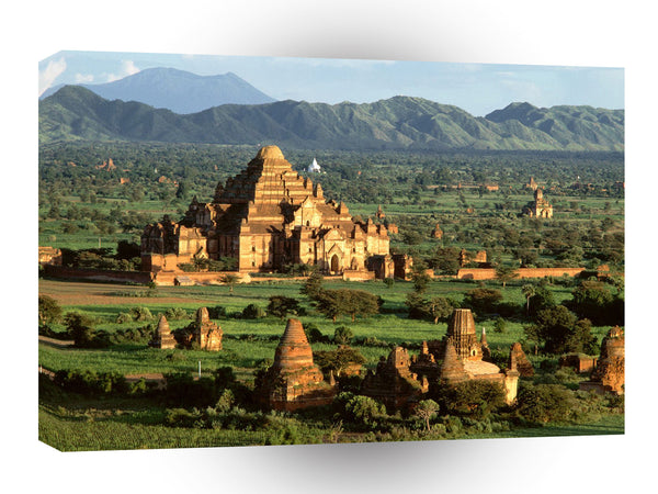 Architecture Countryside Pagoda Bagan Myanmar A1 Xlarge Canvas