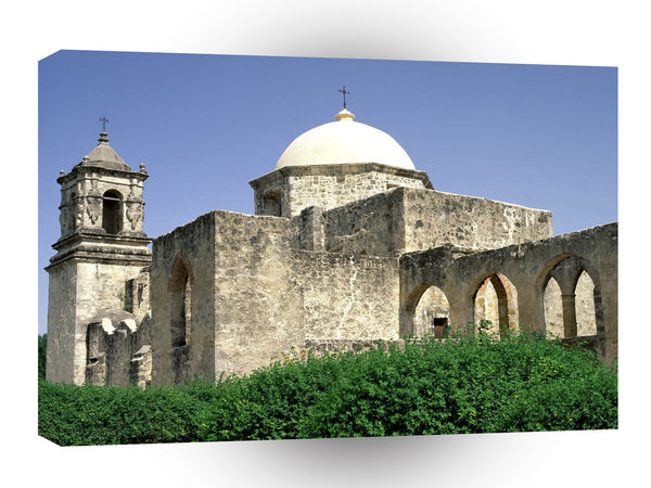 Architecture Mission San Jose San Antonio Texas A1 Xlarge Canvas