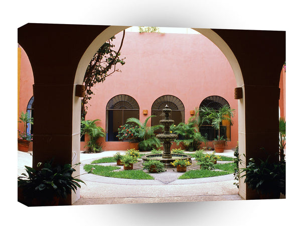 Architecture Old Town Mazatlan Mexico A1 Xlarge Canvas