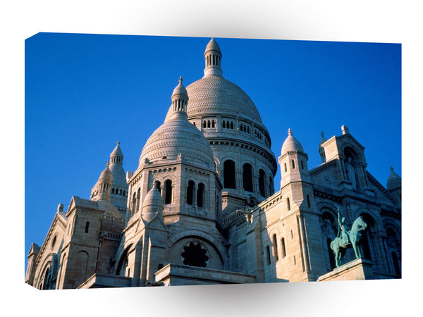 Architecture Sacre Coeur Paris France A1 Xlarge Canvas