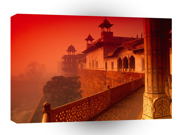 Asia Agra Fort India A1 Xlarge Canvas