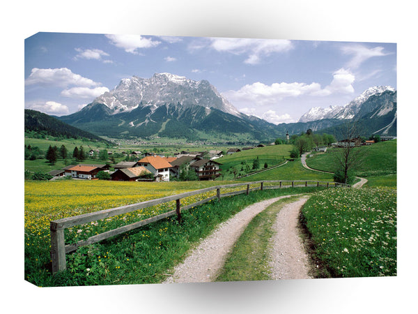 Austria Austria In Bloom A1 Xlarge Canvas