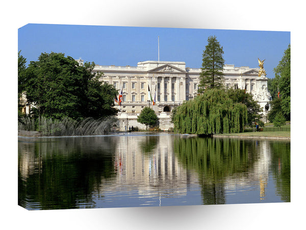 Britain Buckingham Palace London England A1 Xlarge Canvas