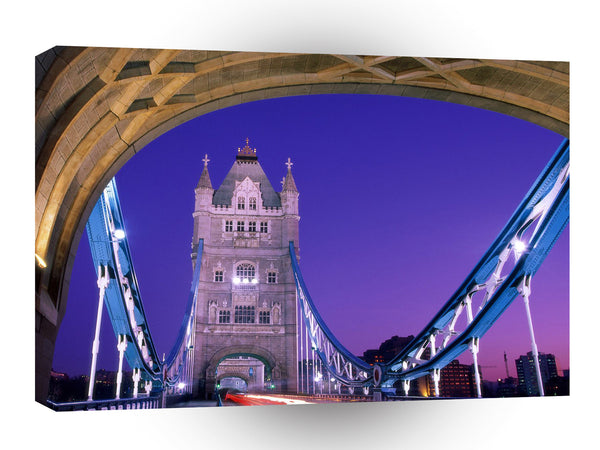 Britain Crossing Overtower Bridge London England A1 Xlarge Canvas