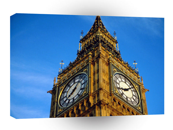Britain Do You Have The Time Tower London England A1 Xlarge Canvas