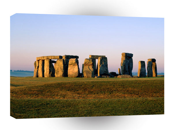 Britain Famous Rock Group Stonehenge Wiltshire England A1 Xlarge Canvas