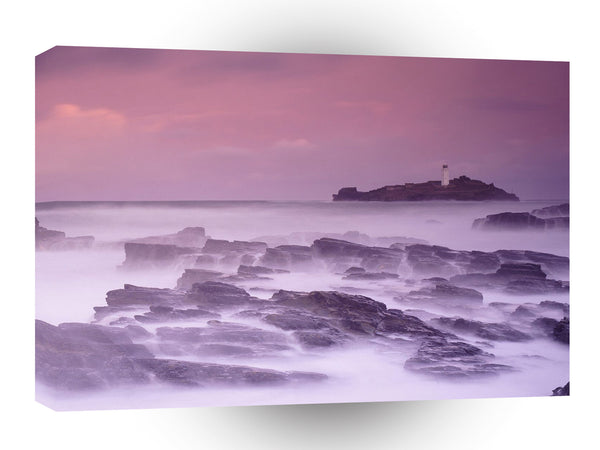 Britain Godrevy St Ives Bay Cornwall England A1 Xlarge Canvas