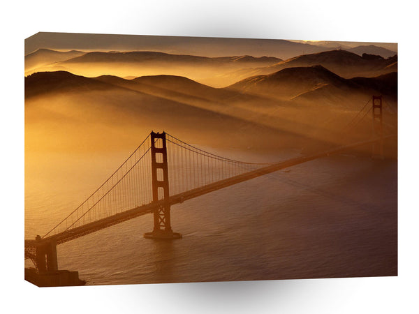 California Golden Gate Bridge Marin Headlands A1 Xlarge Canvas