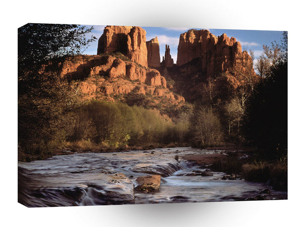 Canyon Cathedral Rock Oak Creek Sedona A1 Xlarge Canvas