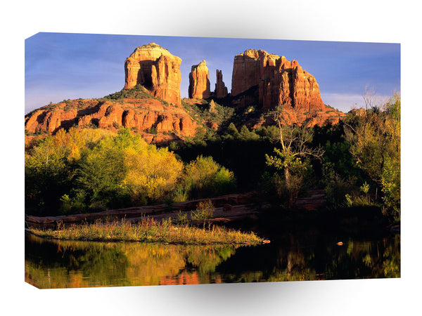 Canyon Cathedral Rock Sedona A1 Xlarge Canvas
