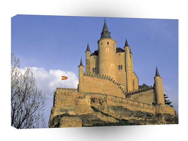 Castles Alcazar Tower Segovia Spain A1 Xlarge Canvas