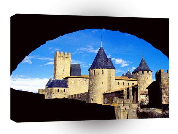 Castles Chateau Comtal Carcassonne France A1 Xlarge Canvas