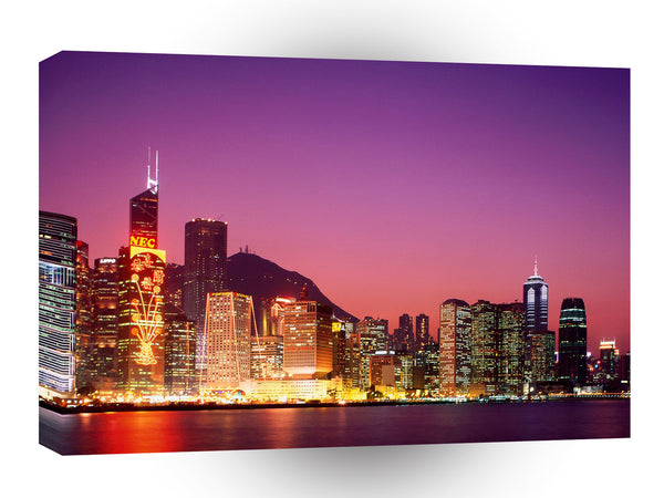China Hong Kong Skyline A1 Xlarge Canvas