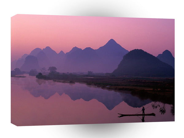China Li River Guangxi Zhuang A1 Xlarge Canvas