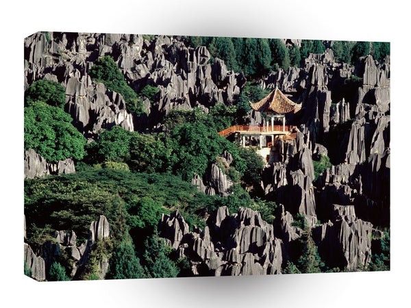 China Stonewoods Shilin Yunnan Province A1 Xlarge Canvas