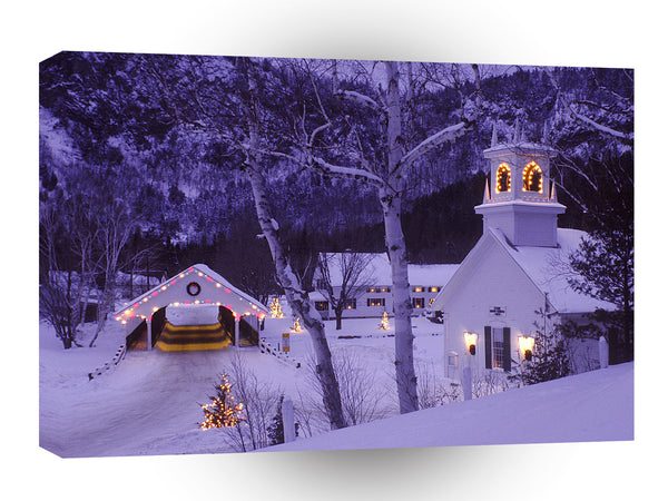 Christmas A Country Christmas Stark A1 Xlarge Canvas