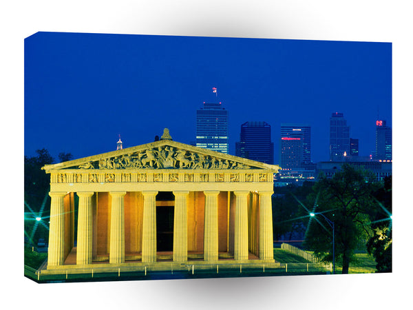 Cityscapes Athens South Nashville Tennessee A1 Xlarge Canvas