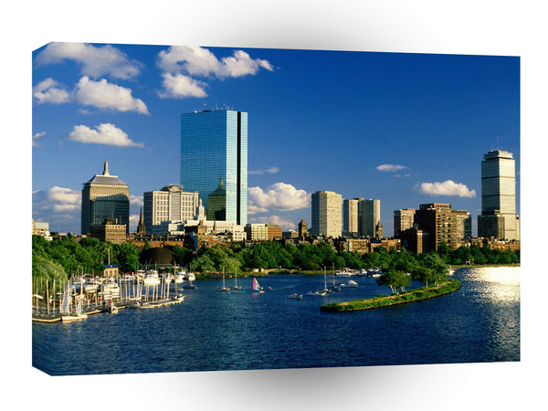 Cityscapes Back Bay Boston Massachusetts A1 Xlarge Canvas