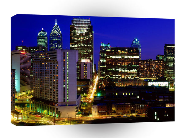 Cityscapes Center City Skyline Philadelphia Pennsylvania A1 Xlarge Canvas