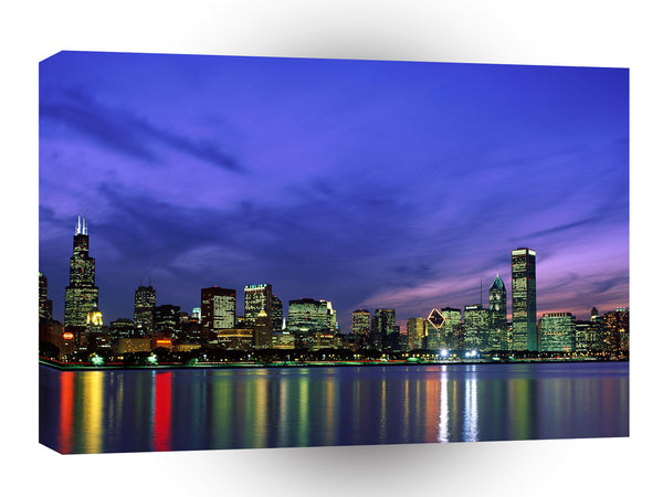Cityscapes Chicago Illinois A1 Xlarge Canvas