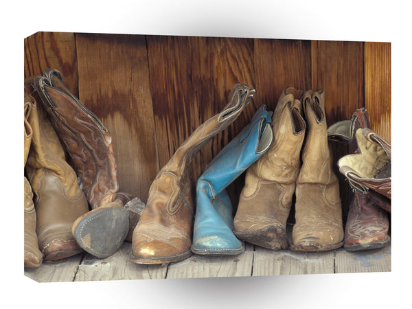 Cowboy Boots Country Living A1 Xlarge Canvas