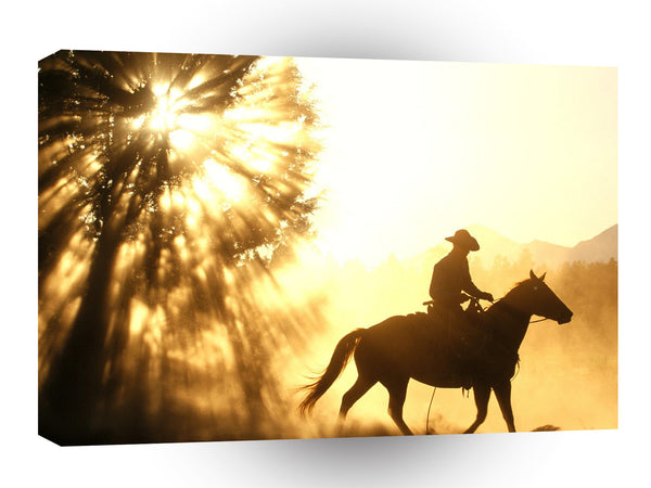 Cowboy Trail Blazer A1 Xlarge Canvas