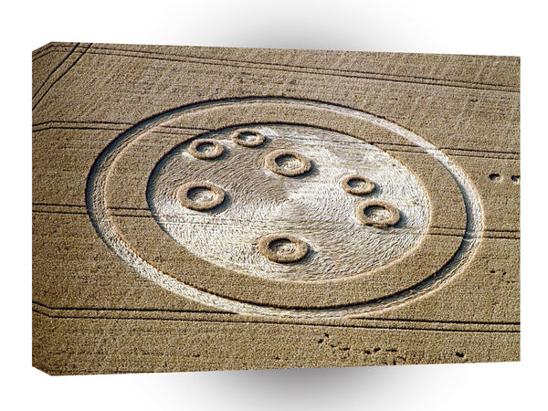 Crop Circle Sisters Of Pleiades Froxfield 1994 A1 Xlarge Canvas