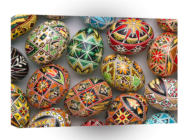 Easter Enchanting Eggs A1 Xlarge Canvas