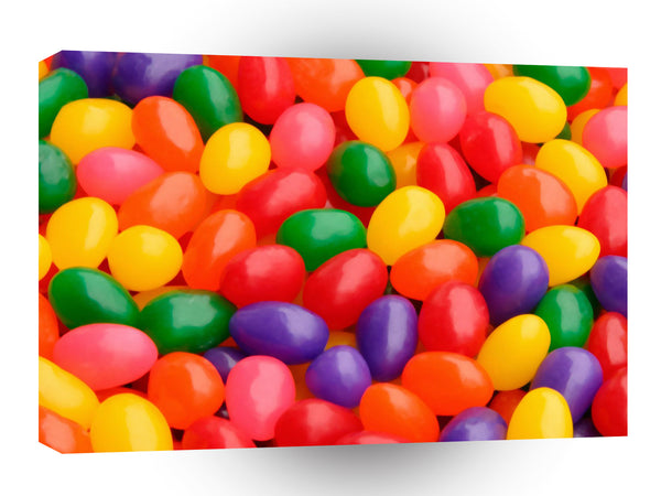 Easter Jelly Beans A1 Xlarge Canvas