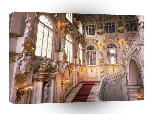 Europe State Hermitage Museum St Petersburg Russia A1 Xlarge Canvas