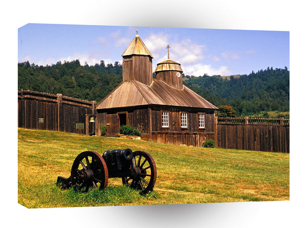 Farms And Barns Fort Ross State Historic A1 Xlarge Canvas